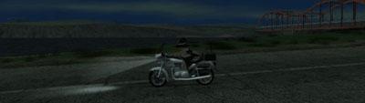 海+バイク=何かのフラグ